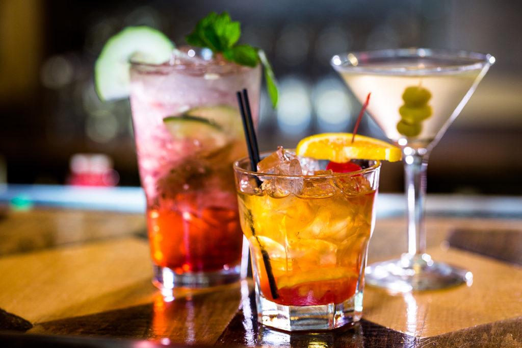 Fruchtige Cocktails an unserer Bar